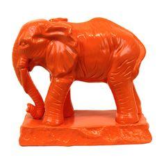 Urban Trends Ceramic Standing Elephant Statue & Reviews | Wayfair