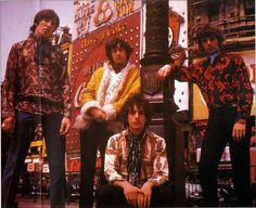 Syd Barrett Family Photos. Pink Floyd 1967 June/July, Piccadilly Circus, London