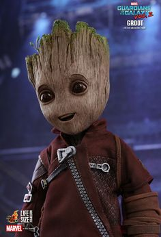 Baby Guardians Of The Galaxy 2 Marvel Groot  Blumentopf Stifthalter Figuren DE