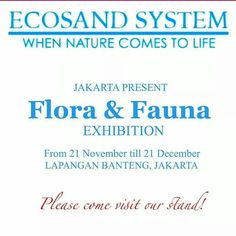 We are currently preparing for the FLAURA &,FAUNA exhibition @ Lapangan Banteng.. There is gonna be loads of surprises in store. Don't forget to drop by our stand ECOSAND. #ecosand_Indo #ecosand #koiindo #koi #fish #aqua #aquarium #jakarta #jkt #landscape #waterscape #pond #nature