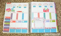 "Original post said : ""Plan With Me- How I Plan In My Erin Condren Planner"""