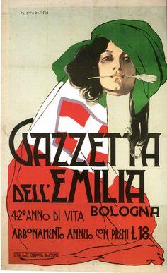 Dudovich - Gazzetta dell'Emilia