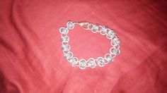 Check out this item in my Etsy shop https://www.etsy.com/listing/203193607/handmade-barrel-weave-chainmaille