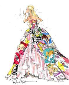 Robert Best Barbie designer