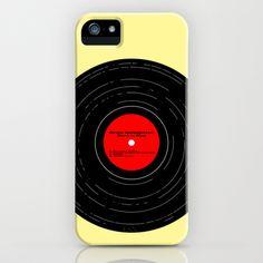 Born to Run- Bruce Springsteen Vinyl iPhone & iPod Case by MisfitIsle - $35.00