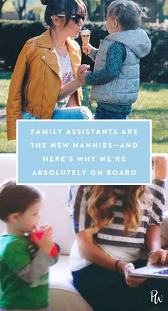 Family Assistants Are the New Nannies—and Here's Why We're Absolutely on Board #purewow #parenting #family #children