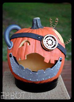 EPBOT: My Steampunk Jack-O-Lantern!