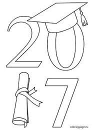 Graduation cap pattern. Use the printable outline for