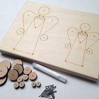 Drát. FORMY stavebnice   kits / Zboží prodejce JitkaMorys   Fler.cz Costume Jewelry Crafts, Wire Crafts, Wire Art, Metal Working, Ideas, Craft, Woodworking, Iron, Paper