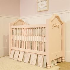 @Rosenberry Rooms is offering 10% OFF your purchase! Share the news and save! Cape Cod Rose Crib #rosenberryrooms