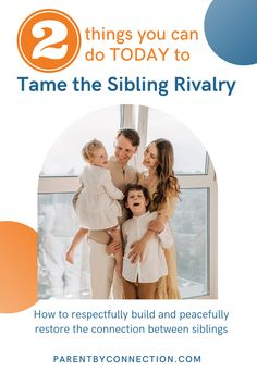 Are the siblings' squabbles getting on your nerves? Do you feel like hiding under a blanket hoping you won't hear their arguments? Are you tired of being a referee or a judge? Do you yearn for more peaceful family time? Would you like for your kids to just get along well and find good solutions together? Here are TWO simple things you can do TODAY to support children to get along better and build close relationships with their siblings. #parenting #siblingrivalry Sibling Rivalry, Referee, Yearning, Simple Things, Siblings, Tired, Children, Kids, Connection
