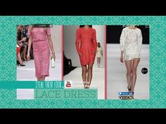 Steal Their Look: Lace Dress - iLook - YouTube
