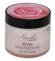 Kuumba Rose Coconut Oil