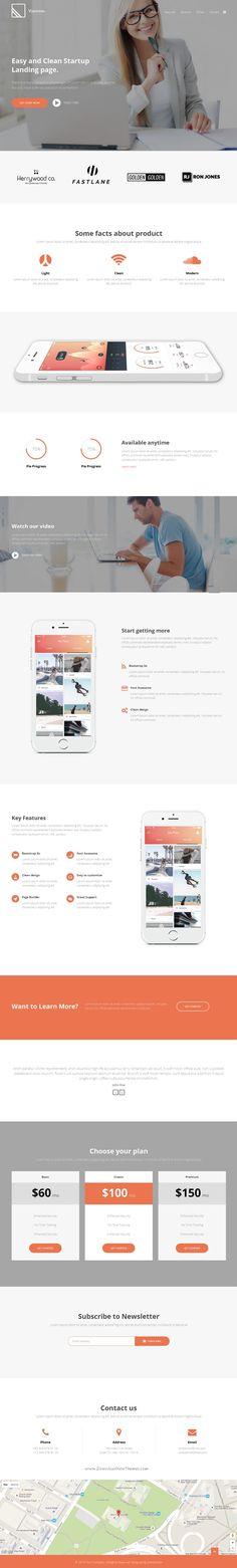 Garden Multipurpose Landing Page Landing Pages Templates - Joomla landing page template