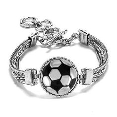 Soccer Bracelet - Soccer Jewelry - Soccer - Gift For Soccer Player