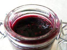recette Confiture de framboises, myrtilles, lychees, eau de rose et fleur d'oranger