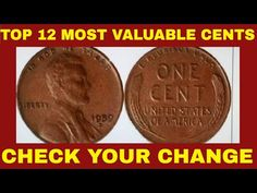 Rare Coins Worth Money, Valuable Coins, Lost Money, Big Money, Most Expensive Penny, Penny Value Chart, Penny Values, Rare Pennies, Penny Coin