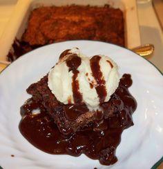 Chef Chloe Coscarelli's Hot-Fudge-on-the-Bottom Cake