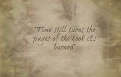 "Avenged Sevenfold - So far away  -  ""Time still turns the pages of the book it's burned."""