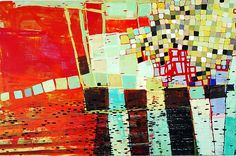 Mosaic Walk by Barbara Gilhooly: Acrylic Painting - STUDIO SALE available at www.artfulhome.com