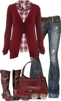 """Red"" by partywithgatsby on Polyvore"