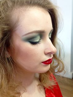 1970s Studio 54 inspired. Makeup and hair by Janey Umback