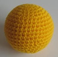 There's a lot of amigurumi balls out there, but I haven't seen such a perfectly shaped one before.   You could also use this pattern to mak...