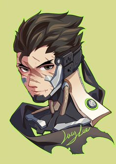 Genji is so cute! Overwatch Genji, Overwatch Fan Art, Overwatch Drawings, Character Concept, Character Design, Shimada Brothers, Genji And Hanzo, Genji Shimada, Soldier 76