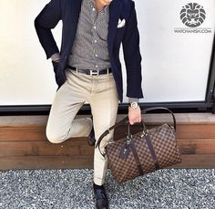 You expect nothing less from Mirko1704. Highlight include: Arnold & Son Watch, Louis Vuitton keepall 45 bag and Hermès belt - Doriani potchet