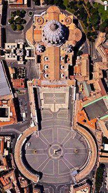 San Pietro, Basilica e Piazza - Vaticano Architecture Romaine, Voyage Rome, Rome Italy, Sorrento Italy, Capri Italy, Naples Italy, Sicily Italy, Vatican City, Place Of Worship