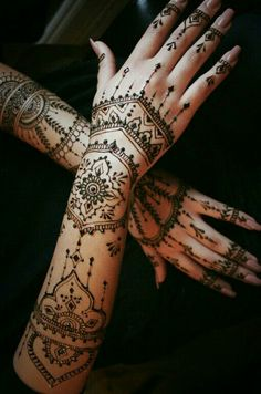 intricate henna #design
