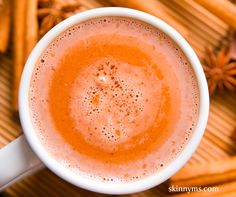 The Health Benefits of Hot Chocolate #skinnyms #cleaneating #chocolate