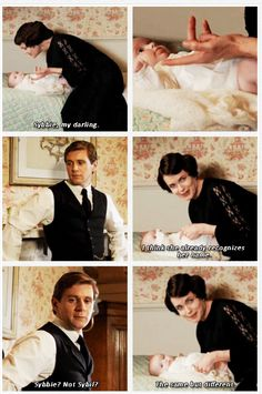 Downton Abbey S03  — Deleted Scene I wish they had kept this scene. It melts my heart knowing that Cora was the one to give Sybbie her nickname...