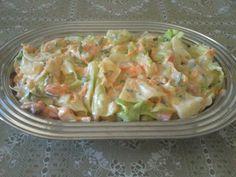 Imagem da receita Salada de repolho com abacaxi