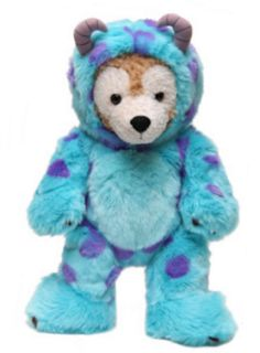 Duffy Dressed as Sulley (Disney/Pixar's Monster's Inc) #Duffy #DuffyTheDisneyBear #DisneyBearCousins