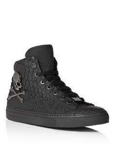 "Philipp Plein - high sneakers ""Skull"" AW 15/16."
