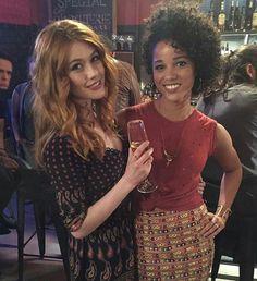 Clary and Maia