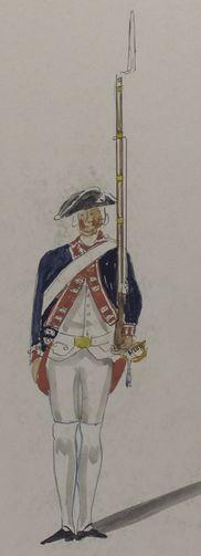 Infanterie Regiment de Nostitz