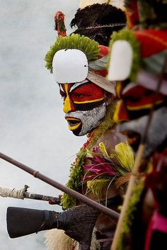 Papua New Guinea, makeup, mu, facepaint, face paint, kryolan, aquacolor, body paint, bodypainting, bodypaint, body painting, tribe, tribal, indigenous