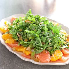 Citrus Salad With Watercress, Dried Cranberries, and Pecans | When I ...