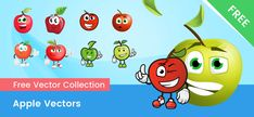 Create Your Own Character, Free Vector Clipart, Apple Vector, Adobe Illustrator Cs6, Cartoon Eyes, Vector Shapes, Action Poses, Vector Characters, Easy Peasy