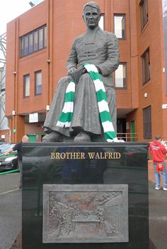 Brother Walfrid, Celtic Park, Glasgow. Founder of Celtic Park Football club.