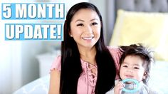 JACOB'S 5 MONTH OLD BABY UPDATE! | Baby Food, Rolling Over, Sleeping Thr...