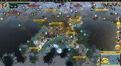 Cathrine settled two canals to connect their iced off capitol #CivilizationBeyondEarth #gaming #Civilization #games #world #steam #SidMeier #RTS