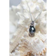 Stunning Genuine Black Tahitian Earring/Pendant set,It is absolutley... (€220) via Polyvore featuring jewelry, earrings, etsyfru, white pearl earrings, pearl earrings, pearl jewellery, pearl jewelry e pearl earrings jewellery