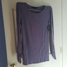 Eva Alexander shirt Jersey gathered sleeve maternity top Eva Alexander  Tops