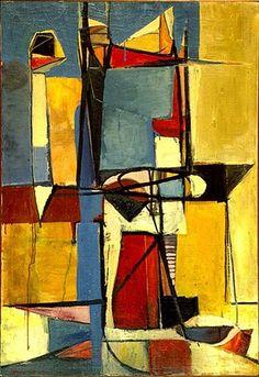 Richard Diebenkorn -Legion of Honor 7 Richard Diebenkorn, Modern Art, Contemporary Art, Franz Kline, Jasper Johns, Willem De Kooning, Art Moderne, Jackson Pollock, Painting & Drawing