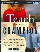 FREE+SHIPPING+!+Teach+Like+a+Champion:+49+Techniques+that+Put+Students+on+the+Path+to+College