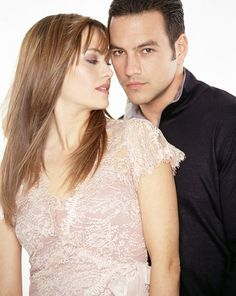 Tyler Christopher & Natalia Livingston on the Soap Opera General Hospital played  Nikolas & Emily. They also dated in real life off and on.