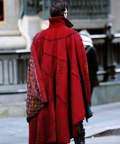 Benedict Cumberbatch is seen filming 'Doctor Strange' on April 3, 2016 in New York City.